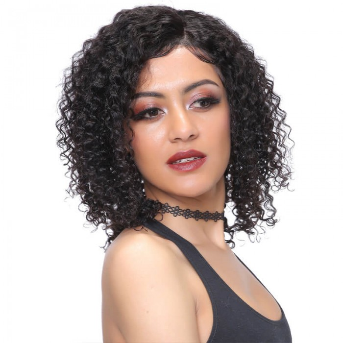 UNice-Bettyou Brazilian Deep Wave Lace Front Wig 100% Human Hair
