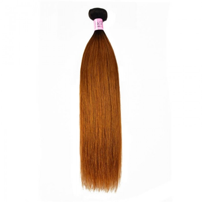 UNice Hair 1 Bundle Virgin Human Hair #TB30 Color High Quality Straight Weave  Icenu Series
