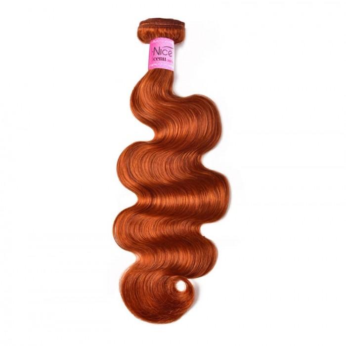 UNice Hair #350 Color Virgin Body Wave Hair Weave 1 Piece 8-30 Inch Hair Bundles Icenu Series