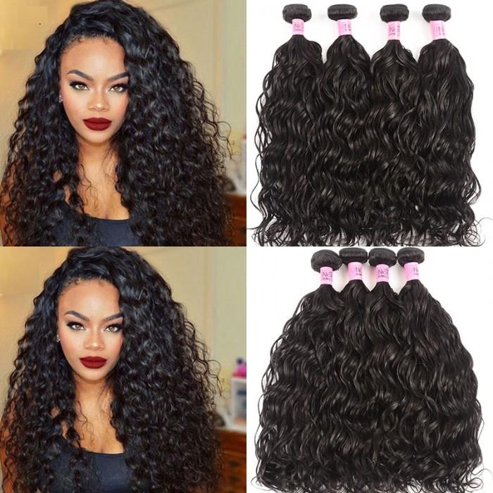 UNice Hair Icenu Series 4pcs/pack Virgin Hair Unprocessed Natural Wave Human Hair