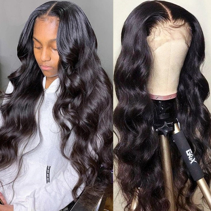 UNice Selected Pre Plucked Virgin Hair Body Wave HD Lace Closure Wigs Amazing Lace Melted Match All Skin Color Bettyou Series