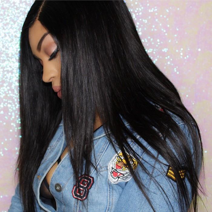 UNice Hair Kysiss Series Best Selling Unprocessed Straight Indian Virgin Hair 4pcs/pack