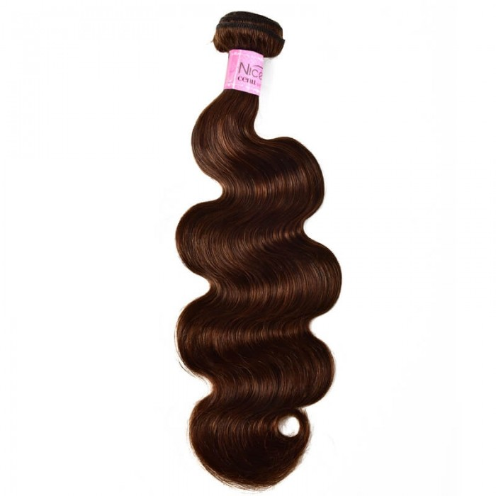 UNice Rare Human Hair Weave #4 Body Wave Hair Bundles 1 Bundle Deal Icenu Series