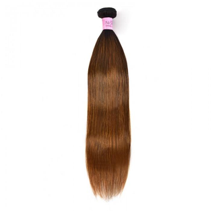 UNice Superior Straight Human Hair Weave Virgin 1 Bundles Deals #FB30 Colored Hair