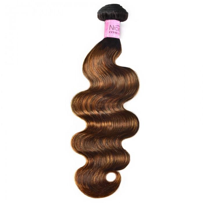 UNice Resilient Body Wave Human Hair Weave #FB30 Super Human Hair Bundles 1 Bundle Deals
