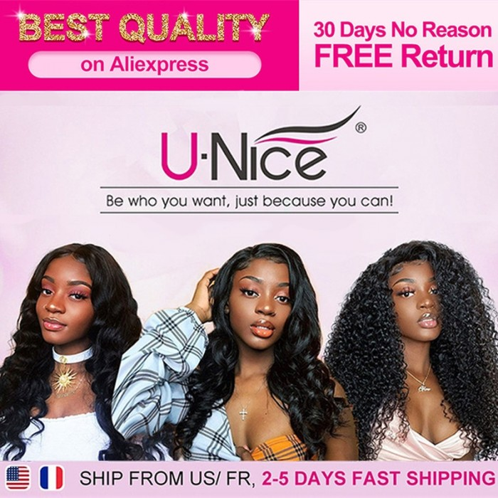 AE Unice Buy Now Pay Late Top Quality 100% Human Hair Wig