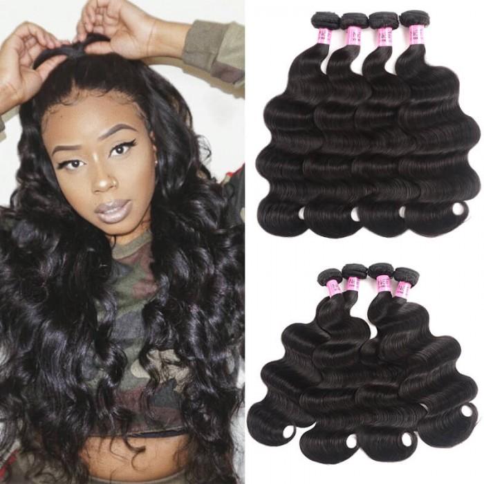 UNice Hair Icenu Series Malaysian Body Wave Hair 4Pcs/pack