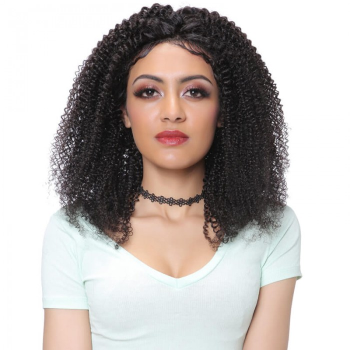 Unice Hair Bettyou Series Indian Kinky Curly Wig Human Hair Lace