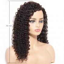 UNice Hair Bettyou Wig Serices Medium Curly 100% Human Hair Wig Capless Cap