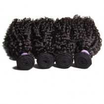 UNice Hair Kysiss Series 4 Bundles 8A Brazilian Jerry Curly Human Virgin Hair