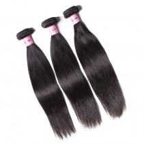 UNice Hair Icenu Series 3pcs/pack Peruvian Straight Human Virgin Hair