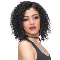 UNice Hair Bettyou Series Brazilian Deep Wave Lace Front Wig 100% Human Hair