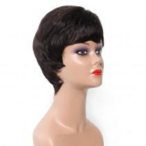 UNice Hair Bettyou Wig Series Brazilian Short Straight Human Hair Capless Wigs For Women