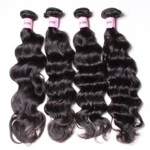 UNice Hair Icenu Series Peruvian Natural Wave Hair Weft 4pcs/pack