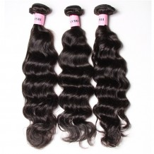UNice Hair Icenu Series 3pcs/pack Malaysian Natural Wave Human Virgin Hair Weaving