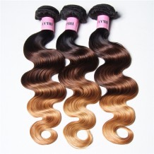 UNice Hair Icenu Series 3 Bundles Brazilian Ombre Body Wave Human Hair