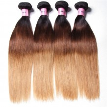 unice brazilian straight ombre hair