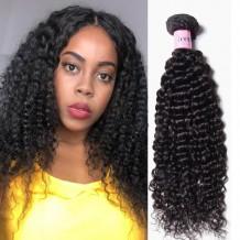 UNice Hair Icenu Series 4Pcs/pack Indian Human Virgin Jerry Curly Hair Weaves