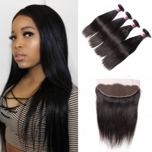 straight Frontal hair closure