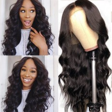 UNice Hair Bettyou Series Long Body Wave Human Hair Lace Front Wig For Women Online For Sale