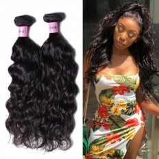 UNice Hair Icenu Series Peruvian Human Hair Bundles Natural wave 3pcs/Lot