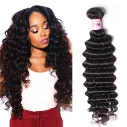 UNice Hair Icenu Series Brazilian Deep Wave Human Virgin Hair 4 Bundles