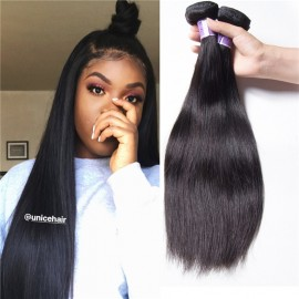 UNice-Kysiss Brazilian Hair 3pcs Straight Human Hair