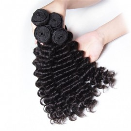 UNice-Kysiss Peruvian Deep Wave Hair Extensions 4pcs/Lot