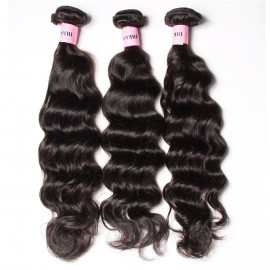 UNice Hair Icenu Series 3pcs/pack Malaysian Natural Wave Human Virgin Hair Weaving