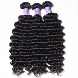 UNice-Kysiss 3pcs/pack Peruvian Deep Human Hair Weaves