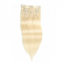 UNice 100g #60 Platium Blonde Clip In Hair