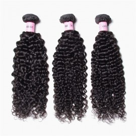 UNice Hair Icenu Series Virgin Human Hair 3pcs/pack Virgin Jerry Curly Wave Hair