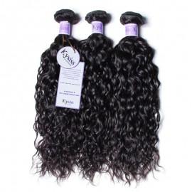 UNice Hair Kysiss Series 3 Bundles Brazilian Water Wave Virgin Human Hair