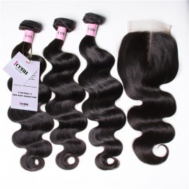 UNice body wave human hair