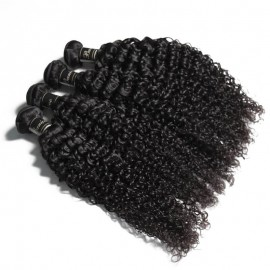 UNice Hair Banicoo Series Remy Virgin Human Hair 4pcs/pack Jerry Curly Weave Hair Bundles