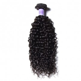 UNice Hair Kysiss Series 8A Grade 1 Piece Jerry Curly Human Virgin Hair