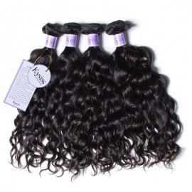 UNice Hair Kysiss Series 8A Grade 4pcs Product Brazilian Natural Wave Virign Hair Extensions