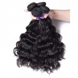 UNice Hair Kysiss Series Malaysian Natural Wave 4pcs/Lot Cheap Human Hair Extensions
