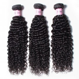UNice Hair Icenu Series 3 pcs/pack Brazilian Jerry Curly Hair Weaving