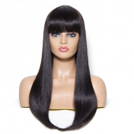 UNice Hair Bettyou Wig Serices New Arrival Long Straight Wig With Full Bangs 22 Inch