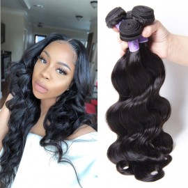 UNice Hair Kysiss Series 8A Grade 100% Indian Human 3 Bundles Body wave Virgin Hair