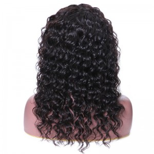 UNice Hair Bettyou Wig Series Full Lace Wig Deep Wave Wigs Natural Black Human Hair