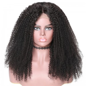 UNice Hair Bettyou Wig Series New Afro Curly Human Hair 360 Lace Wig Kinky Wi