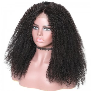 UNice Hair Bettyou Wig Series New Afro Curly Human Hair 360 Lace Wig Kinky Wig
