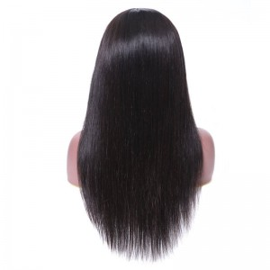 UNice Hair Bettyou Wig Series Natural Black Lace Front Remy Human Hair Long Sleek Straight Wigs