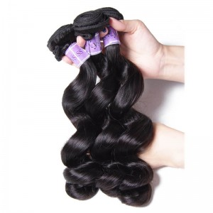 UNice Hair Kysiss Series 3pcs/pack Brazilian Loose Wave Virgin Human Hair