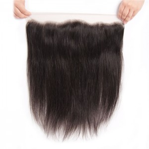 UNice Straight Hair Lace Frontal Hair Closure