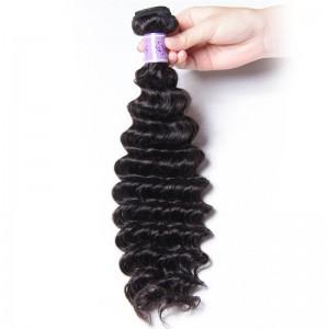 UNice Hair Kysiss Series 1 Piece Virgin Human Hair 8A Grade Deep wave