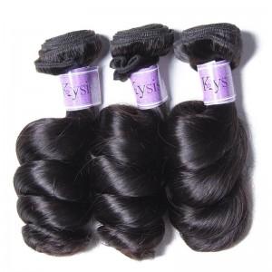 UNice-Kysiss 3pcs/pack Brazilian Loose Wave Virgin Human Hair