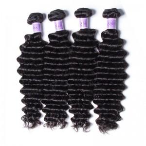 UNice Hair Kysiss Series Peruvian Deep Wave Hair Extensions 4pcs/Lot